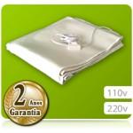 Lençol Térmico para Maca em Curvim Branco (1,65 x 0,70m) 2 temperaturas