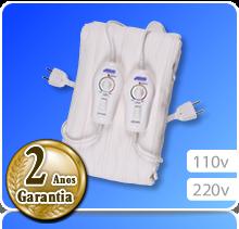 Lençol Térmico Casal Padrão (1,40m x 1,75m) Potenciômetro