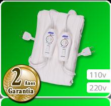 Lençol Térmico Casal - King Size (1,90m x 1,90m) Potenciômetro